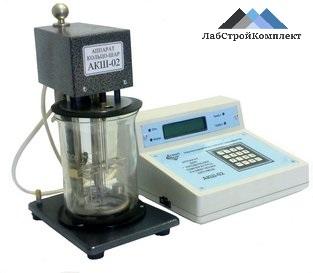 Аппарат для определения температуры размягчения битумов АКШ