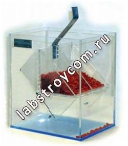 Определения угла откоса песков УВТ-3М