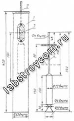 Цилиндр мерный  КП-601/3