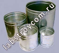 Сосуды мерные металлические  КП-601/4