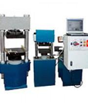 Испытательный комплекс из прессов ИП-500М-авто и ИП-100М-авто